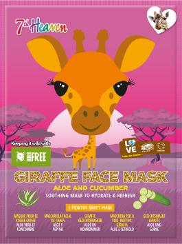 Image of Giraffe Face Mask